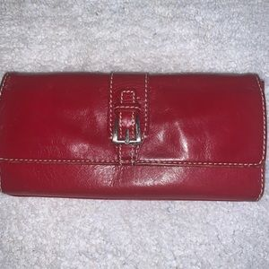 Hype Wallet Red Leather